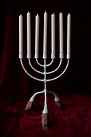 candelabra with candles-1
