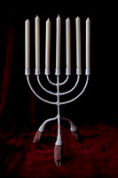 candelabra with candles-3