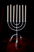 candelabra with candles-2