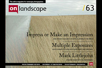 on landscape cover